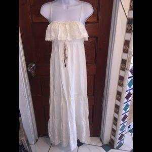 Flying Tomato Ivory Long Dress